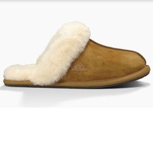 Ugg scuffette shearling slippers chestnut brown 7